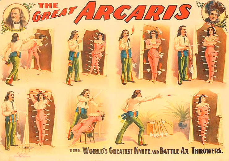"BLOG FEATURE: Gustavo Arcaris ~ ""The Great Arcaris"" & Kate"