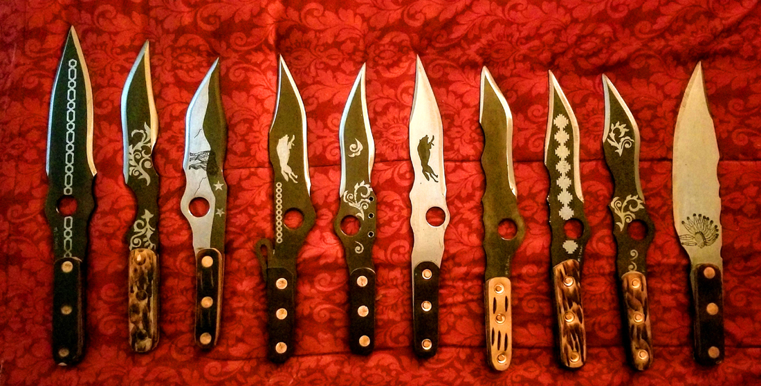 Artist Maker: McNees Knife Works, Bo McNees