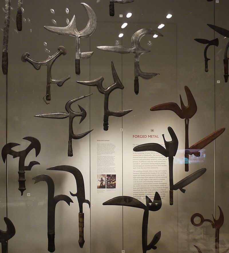 Throwing Knives History - Central Africa
