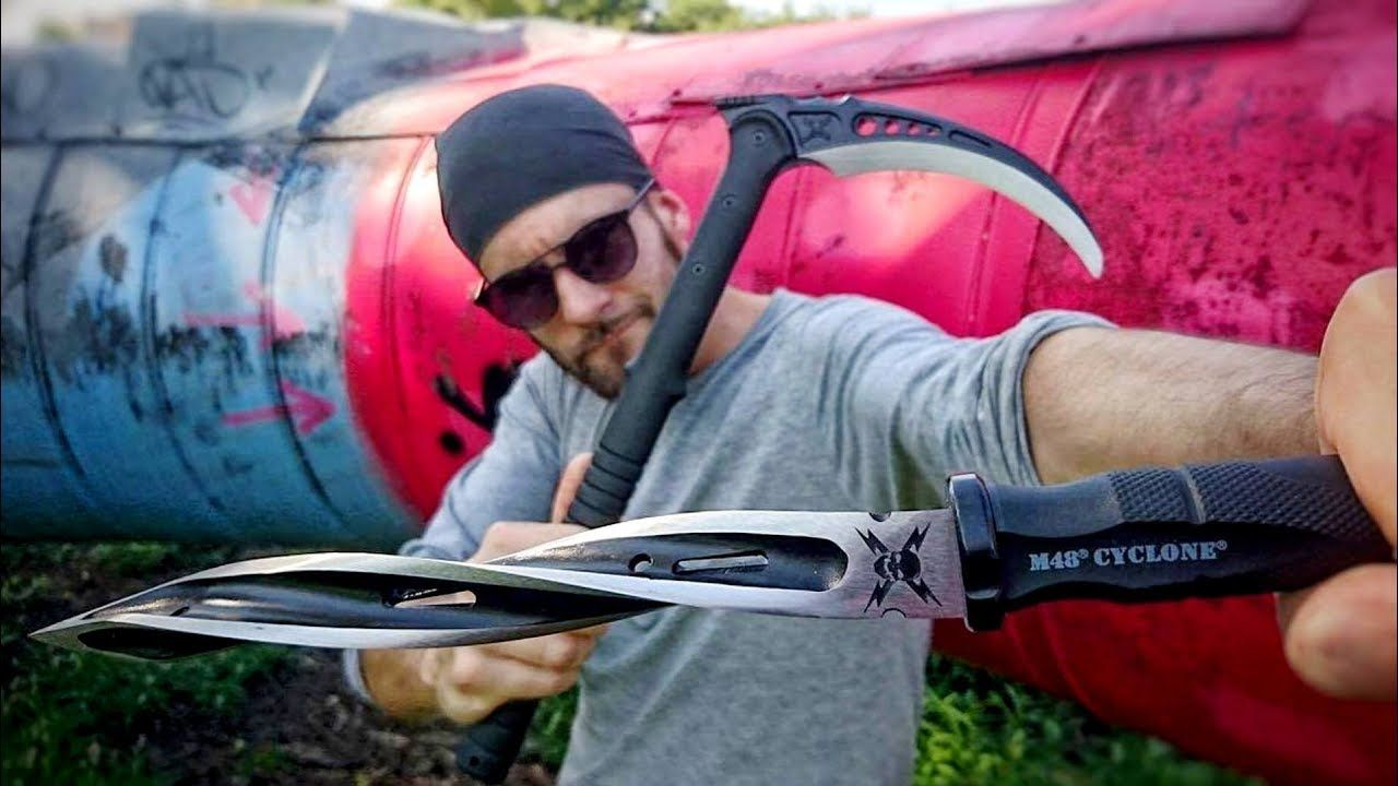 Knife Thrower: Adam Celadin