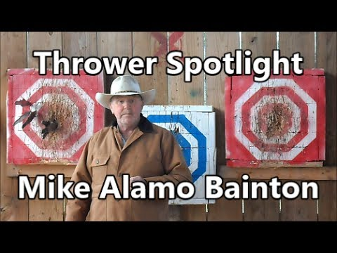 Knife Thrower: Mike Alamo Bainton