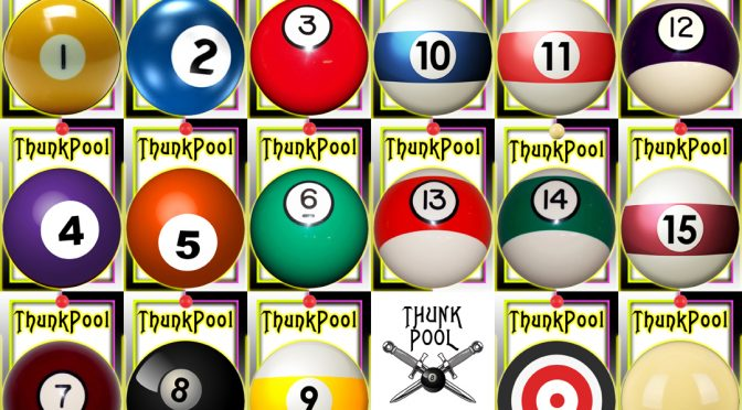 ThunkPool ~ The Knife Throwing Gentlemen's Games of Billiards